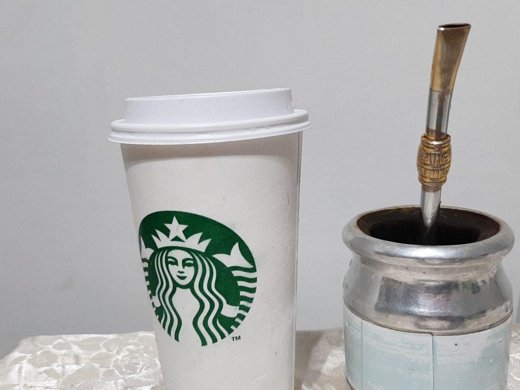 cafe o yerba mate
