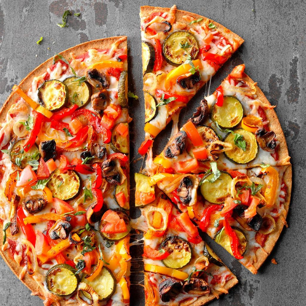 Cómo bajar de peso siendo vegetariana Pizza Vegetariana.