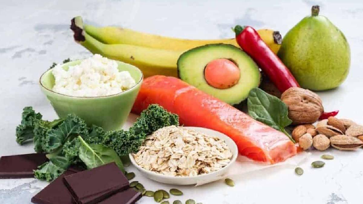 comidas saludables y calóricas